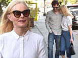 Kate Bosworth And Michael Polish Take A Stroll Through Melrose Avenue in West Hollywood  Pictured: Kate Bosworth And Michael Polish Ref: SPL1247165  150316   Picture by: Photographer Group / Splash News  Splash News and Pictures Los Angeles: 310-821-2666 New York: 212-619-2666 London: 870-934-2666 photodesk@splashnews.com