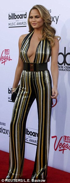 Las Vegas or bust! Jennifer Lopez, Taylor Swift, Chrissy Teigen, and Mariah Carey all opted to showcase their ample charms on the red carpet of the Billboard Music Awards in Las Vegas, which air Sunday on ABC