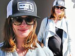 Exclusive... 51996128 Pregnant actress Anne Hathaway was spotted shopping at Cross Road in West Hollywood, California on March 14, 2016.  Anne just confirmed that there will be a 'Princess Diaries 3'. FameFlynet, Inc - Beverly Hills, CA, USA - +1 (310) 505-9876