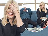 EDITORIAL USE ONLY. NO MERCHANDISING Mandatory Credit: Photo by Ken McKay/ITV/REX/Shutterstock (5614773bd) Phillip Schofield and Holly Willoughby 'This Morning' TV show, London, Britain - 17 Mar 2016 Maestra, We meet the author whose bonkbusting debut thriller 'Maestro' is being made into a Hollywood film.
