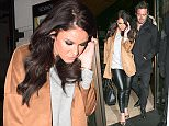 16.MSB1h.2016 - London - UK Spencer Matthews and Vicky Pattison pictured looking glamours while arriving and leaving the trendy Novikov Restaurant & Bar in Mayfair, London. BYLINE MUST READ : XPOSUREPHOTOS.COM ***UK CLIENTS - PICTURES CONTAINING CHILDREN PLEASE PIXELATE FACE PRIOR TO PUBLICATION *** **UK CLIENTS MUST CALL PRIOR TO TV OR ONLINE USAGE PLEASE TELEPHONE   44 208 344 2007 **