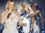 EDITORIAL USE ONLY \nNO COMMERCIAL USE; NO BOOKS OR MERCHANDISING WITHOUT PRIOR PERMISSION\nMariah Carey performs onstage during her European tour at the SSE Hydro in Glasgow. PRESS ASSOCIATION Photo. Picture date: Tuesday March 15, 2016. Photo credit should read: Danny Lawson/PA Wire