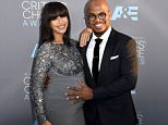SANTA MONICA, CA - JANUARY 17:  Singer Neyo (R) and Crystal Renay attend the 21st Annual Critics' Choice Awards at Barker Hangar on January 17, 2016 in Santa Monica, California.  (Photo by Lester Cohen/Getty Images)