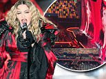 Picture Shows: Madonna  March 17, 2016\n \n Madonna performs live in concert at The  Brisbane Entertainment Centre in Brisbane, Australia. The superstar angered many of her fans as she arrived over two hours late to the concert.\n \n Non-Exclusive\n UK RIGHTS ONLY\n \n Pictures by : FameFlynet UK © 2016\n Tel : +44 (0)20 3551 5049\n Email : info@fameflynet.uk.com