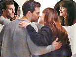 Picture Shows: Jamie Dornan, Dakota Johnson  April 22, 2016\n \n Jamie Dornan and Dakota Johnson spotted on the set of 'Fifty Shades Darker' in Vancouver, Canada.\n \n Non Exclusive\n UK RIGHTS ONLY\n \n Pictures by : FameFlynet UK © 2016\n Tel : +44 (0)20 3551 5049\n Email : info@fameflynet.uk.com