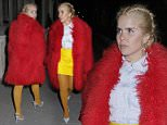 paloma faith with friend at the connaught 15/3/206 blitz pictures