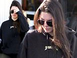 Kendall Jenner  dresses all black with  a skull on her back as she goes makeup free while taking her Range Rover to get an oil change & a tire rotation early in the morning\n\nPictured: Kendall Jenner\nRef: SPL1246566  150316  \nPicture by: LA Photo Lab / Splash News\n\nSplash News and Pictures\nLos Angeles: 310-821-2666\nNew York: 212-619-2666\nLondon: 870-934-2666\nphotodesk@splashnews.com\n