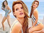 EXCLUSIVE: Bella Thorne was spotted showing off body while doing a sexy photoshoot in Malibu's Zuma Beach. The actress wore a striped one piece bathing suit revealing her toned body and a small tattoo on her foot. Bella was seen posing for a professional photographer and for her cell phone as well. The former Disney star was also seen chasing a flock of seagulls with her arms out mimicking their flight.\n\nPictured: Bella Thorne\nRef: SPL1242619  170316   EXCLUSIVE\nPicture by: Sharpshooter Images / Splash\n\nSplash News and Pictures\nLos Angeles: 310-821-2666\nNew York: 212-619-2666\nLondon: 870-934-2666\nphotodesk@splashnews.com\n