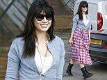 LONDON, UNITED KINGDOM - MARCH 17: (EDITORS NOTE: Part of this image has been pixellated to obscure the number plate)   Daisy Lowe seen stepping out in North London on March 17, 2016 in London, England. (Photo by Alex Huckle/GC Images)