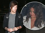Picture Shows: Louis Tomlinson  March 17, 2016    Louis Tomlinson seen arriving at LAX airport in Los Angeles, California.  Louis' girlfriend was in the car waiting for him.     Non-Exclusive  UK RIGHTS ONLY    Pictures by : FameFlynet UK � 2016  Tel : +44 (0)20 3551 5049  Email : info@fameflynet.uk.com