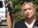 Hilary Duff Goes to a Meeting in West Hollywood in Gold Pants\n\nPictured: Hilary Duff\nRef: SPL1248072  170316  \nPicture by: All Access Photo\n\nSplash News and Pictures\nLos Angeles: 310-821-2666\nNew York: 212-619-2666\nLondon: 870-934-2666\nphotodesk@splashnews.com\n
