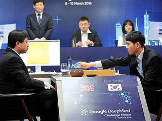 Computer 1, Human 0 as AlphaGo Wins First Game in Great Go Challenge