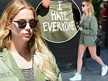 Ashley Benson Wears an I Hate Everyone Jac Vanek Jacket\n\nPictured: Ashley Benson\nRef: SPL1248361  170316  \nPicture by: All Access Photo\n\nSplash News and Pictures\nLos Angeles: 310-821-2666\nNew York: 212-619-2666\nLondon: 870-934-2666\nphotodesk@splashnews.com\n