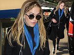 Rita Ora is seen at Linate Airport after a shooting day for the Italian Lingerie Brand Tezenis on March 18, 2016 in Milan, Italy. Photo Bux/BEESCOOP.COM  exclusive