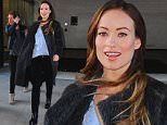 NEW YORK, NY - MARCH 18:  Actress Olivia Wilde is seen walking in Midtown on March 18, 2016 in New York City.  (Photo by Raymond Hall/GC Images)