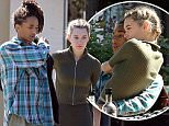 Jaden Smith and Sarah Snyder were spotted enjoying each other's company at Le Pain Quotidien, both in green for St. Patrick's Day, on Thursday, March 17, 2016. X17online.com\\nNO WEB SITE \\nMAGAZINES NORMAL FEES\\nAny queries please call Lynne or Gary on office 0034 966 713 949\\nGary mobile 0034 686 421 720 \\nLynne mobile 0034 611 100 011