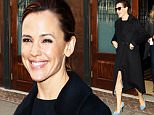 Mandatory Credit: Photo by Startraks Photo/REX/Shutterstock (5614804a)\nJennifer Garner\nJennifer Garner out and about, New York, America - 17 Mar 2016\nJennifer Garner Spotted Leaving her TriBeCa Hotel\n
