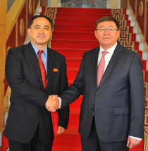 State Secretary D.Gankhuyag held official talks with North Korean Deputy Foreign Minister