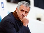Jose Mourinho Manager of Chelsea looks on during the Barclays Premier League match between West Ham United and Chelsea at Boleyn Ground in London, England on October 24, 2015.      LONDON, ENGLAND - OCTOBER 24:  (Photo by Jordan Mansfield/Getty Images)