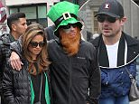 Picture Shows: Vanessa Lachey, Nick Lachey  March 17, 2016\n \n American singer, actor, and television personality and former member of the multi-platinum selling boy band 98 Degrees, Nick Lachey, spotted wearing a leprechaun hat and red fake beard while strolling down Grafton Street with his wife, television personality Vanessa Lachey and friends while on their way to watch the Saint Patrick's Day parade in Dublin, Ireland.\n \n Exclusive - All Round\n WORLDWIDE RIGHTS - NO IRELAND\n \n Pictures by : FameFlynet UK © 2016\n Tel : +44 (0)20 3551 5049\n Email : info@fameflynet.uk.com