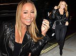 Mandatory Credit: Photo by Palace Lee/REX/Shutterstock (5617111c)\nMariah Carey\nMariah Carey out and about, London, Britain - 19 Mar 2016\n
