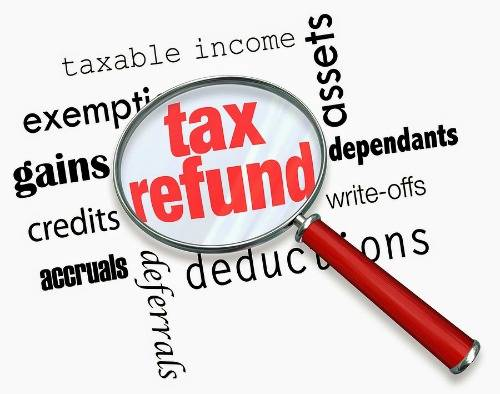 efiling refund of income status