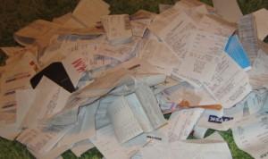 Sortera era kvitton direkt för enklare redovisning