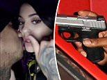 Kylie Jenner Tyga Gun