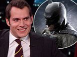 Henry Cavill during an appearance on ABC's 'Jimmy Kimmel Live!' Henry brings a Guinness to share with Jimmy and promotes 'Batman v Superman: Dawn of Justice.'\nFeaturing: Henry Cavill\nWhere: United States\nWhen: 18 Mar 2016\nCredit: Supplied by WENN.com\n**WENN does not claim any ownership including but not limited to Copyright, License in attached material. Fees charged by WENN are for WENN's services only, do not, nor are they intended to, convey to the user any ownership of Copyright, License in material. By publishing this material you expressly agree to indemnify, to hold WENN, its directors, shareholders, employees harmless from any loss, claims, damages, demands, expenses (including legal fees), any causes of action, allegation against WENN arising out of, connected in any way with publication of the material.**