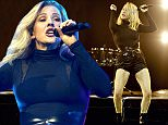 Mandatory Credit: Photo by REX/Shutterstock (5616912d) Ellie Goulding Ellie Goulding in concert at the SEE Hydro, Glasgow, Scotland, Britain - 18 Mar 2016