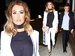 *EXCLUSIVE* Los Angeles, CA - British Reality TV Star from TOWIE, Jessica Wright, and a male friend, spotted looking sharp as they arrived for dinner at trendy L.A. eatery NOBU, before hitting The Nice Guy Nightclub. Jess looked sexy and cute, as usual, this time wearing a navy blue blouse with a white blazer on top, matching skinny trousers and black strap heels.\nAKM-GSI      March 19, 2016\nTo License These Photos, Please Contact :\nSteve Ginsburg\n(310) 505-8447\n(323) 423-9397\nsteve@akmgsi.com\nsales@akmgsi.com\nor\nMaria Buda\n(917) 242-1505\nmbuda@akmgsi.com\nginsburgspalyinc@gmail.com