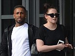 FEE �150 for online and Print  Must Credit Sunday People or fee will be Double  Exclusive\nThis is Sunderland striker Jermain Defoe leaving the Hilton hotel with Hayley Wilson  ? weeks after a married lapdancer moved into his mansion.\nThe ladies? man was spotted getting out of a cab at a posh four-star hotel after training with Sunderland last Sunday.\nHe met mum-of-two Hayley Wilson, 28, and a little while later the striker, 33, left the �120-a-night Newcastle Hilton.