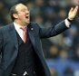LEICESTER, ENGLAND - MARCH 14 : Manager Rafa Benitez of Newcastle during the Barclays Premier League match between Leicester City and Newcastle United at the King Power Stadium on March 14 , 2016 in Leicester, United Kingdom.  (Photo by Plumb Images/Leicester City FC via Getty Images)