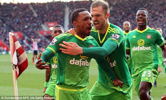 Defoe believes Sunderland have the psychological edge on Newcastle going into Sunday's Tyne-Wear derby