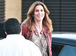 Cindy Crawford goes to Nobu in Malibu  Pictured: Cindy Crawford  Ref: SPL1248746  180316   Picture by:  Splash News  Splash News and Pictures Los Angeles: 310-821-2666 New York: 212-619-2666 London: 870-934-2666 photodesk@splashnews.com