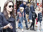 Picture Shows: Maddox Chivan Jolie-Pitt, Angelina Jolie, Vivienne Marcheline Jolie-Pitt  March 19th, 2016    Brad Pitt and Angelina Jolie spotted heading out from the Electric Cinema and Portobello Road Market in Notting Hill as they get back to living a normal life with their family in London, England.     Exclusive  WORLDWIDE RIGHTS    Pictures by : FameFlynet UK © 2016  Tel : +44 (0)20 3551 5049  Email : info@fameflynet.uk.com