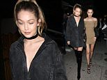 Gigi Hadid And Bell Hadid Leave The Nice Guy Club Together Holding Hands in West Hollywood\n\nPictured: Gigi Hadid And Bell Hadid\nRef: SPL1249512  200316  \nPicture by: Photographer Group / Splash News\n\nSplash News and Pictures\nLos Angeles: 310-821-2666\nNew York: 212-619-2666\nLondon: 870-934-2666\nphotodesk@splashnews.com\n