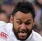 PARIS, FRANCE - MARCH 19:  Billy Vunipola of England runs with the ball during the RBS Six Nations match between France and England at the Stade de France on March 19, 2016 in Paris, France.  (Photo by Aurelien Meunier/Getty Images)