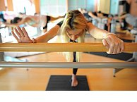 Fluidity barre classes are a breeze - for 10 seconds