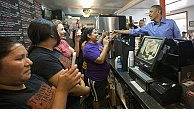 Obama makes a pit stop at Austin's Torchy's Tacos