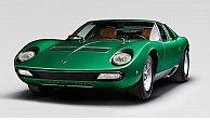 Lamborghini restores the one-of-a-kind Miura SV presented at the 1971 Geneva show