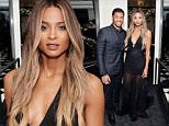 BEVERLY HILLS, CA - MARCH 20:  (EXCLUSIVE COVERAGE) Russell Wilson and Ciara attend Daily Front Row Fashion Los Angeles Awards Private Dinner Hosted By Eva Chow And Carine Roitfeld at Mr Chow on March 20, 2016 in Beverly Hills, California.  (Photo by Stefanie Keenan/Getty Images for The Daily Front Row)