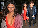20 Mar 2016 - Los Angeles, CA - USA **STRICTLY AVAILABLE FOR UK AND GERMANY USE ONLY** *NO ONLINE USAGE UNTIL FURTHER NOTICE* *PREMIUM EXCLUSIVE - MUST CALL FOR PRICING *  Actor Matthew McConaughey and Camila Alves attend Reese Witherspoon's 40th Birthday at Warwick Nightclub. BYLINE MUST READ : AKM-GSI-XPOSURE ***UK CLIENTS - PICTURES CONTAINING CHILDREN PLEASE PIXELATE FACE PRIOR TO PUBLICATION *** *UK CLIENTS MUST CALL PRIOR TO TV OR ONLINE USAGE PLEASE TELEPHONE 0208 344 2007*