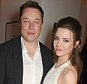 Elon Musk (L) and Talulah Riley attend as Charles Finch hosts his annual Filmmakers Dinner and photographic exhibition in celebration of 'The Art Of Behind The Scenes', in partnership with Jaeger-LeCoultre, at Hotel du Cap-Eden-Roc on May 15, 2015 in Cap d'Antibes, France.  (Photo by David M. Benett/Getty Images for Finch & Partners)