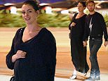 EXCLUSIVE: A heavily pregnant Anne Hathaway walks hand in hand with her husband Adam Shulman after a sushi dinner at Jinpachi in West Hollywood.\n\nPictured: Anne Hathaway, Adam Shulman\nRef: SPL1248701  180316   EXCLUSIVE\nPicture by: M A N I K (NYC) / Splash News\n\nSplash News and Pictures\nLos Angeles: 310-821-2666\nNew York: 212-619-2666\nLondon: 870-934-2666\nphotodesk@splashnews.com\n