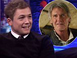 Taron Egerton Responds to Hans Solo Casting Rumors on The Jonathan Ross Show\n\n