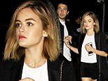 20.March.2016 - Los Angeles - USA\n*** STRICTLY AVAILABLE FOR UK AND GERMANY USE ONLY ***\nLucy Hale is all legs after being spotted holding hands with a mystery guy after they checked out the Leon Bridges concert.\nBYLINE MUST READ : AKM-GSI-XPOSURE\n***UK CLIENTS - PICTURES CONTAINING CHILDREN PLEASE PIXELATE FACE PRIOR TO PUBLICATION ***\n*UK CLIENTS MUST CALL PRIOR TO TV OR ONLINE USAGE PLEASE TELEPHONE 0208 344 2007*\n