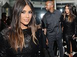 BEVERLY HILLS, CA - MARCH 20:  (EXCLUSIVE COVERAGE)  Kanye West and Kim Kardashian West attend The Daily Front Row Fashion Los Angeles Awards Private Dinner Hosted By Eva Chow And Carine Roitfeld at Mr Chow on March 20, 2016 in Beverly Hills, California.  (Photo by Stefanie Keenan/Getty Images for The Daily Front Row)