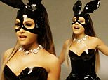 """****Ruckas Videograbs****  (01322) 861777\n*IMPORTANT* Please credit Republic Records for this picture.\n21/03/16\nGrabs from the new music video of Ariana Grande performing an A Cappella version of her song """"Dangerous Woman."""" Grande is seen singing the song wearing a black PVC bunny costume.\nOffice  (UK)  : 01322 861777\nMobile (UK)  : 07742 164 106\n**IMPORTANT - PLEASE READ** The video grabs supplied by Ruckas Pictures always remain the copyright of the programme makers, we provide a service to purely capture and supply the images to the client, securing the copyright of the images will always remain the responsibility of the publisher at all times.\nStandard terms, conditions & minimum fees apply to our videograbs unless varied by agreement prior to publication."""