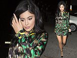 Kylie Jenner leaves The Nice Guy Club in West Hollywood  Pictured: Kylie Jenner Ref: SPL1249236  190316   Picture by: Pap Nation / Splash News  Splash News and Pictures Los Angeles: 310-821-2666 New York: 212-619-2666 London: 870-934-2666 photodesk@splashnews.com